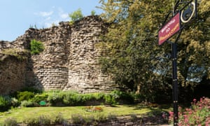 Pontefract Castle – the last stronghold of the royalists in the English Civil War.