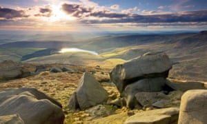 A view worth fighting for … Kinder Scout.