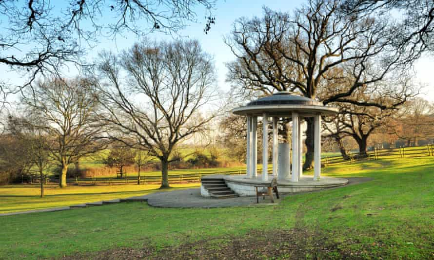 Magna Carta memorial at Runnymede.