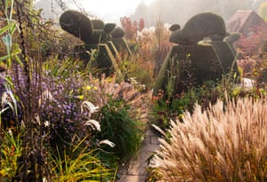 Autumn Colour in the Peacock Garden, by Carol Casselden, winner of the Beautiful Gardens category