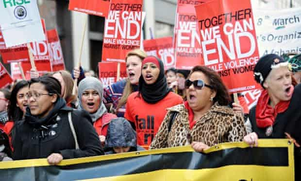 Million Women Rise march and rally
