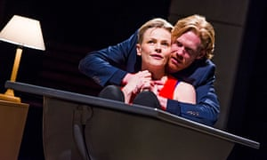 Maxine Peake (Dana) and Michael Shaeffer (Jarron) in How To Hold Your Breath by Zinnie Harris at the
