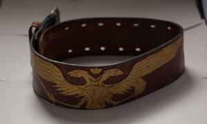 A belt Daniel had made for Petra.