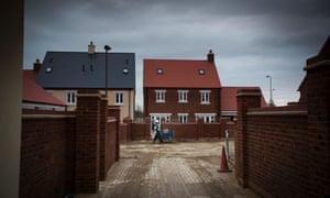 Housing under construction Bicester