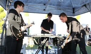The XX perform in Hollywood