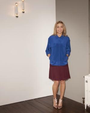 Jess Cartner-Morley in high heels.