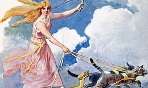 Freyja, the Anglo Saxon goddess after whom Friday is named