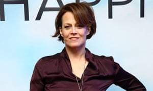 Sigourney Weaver in early February.
