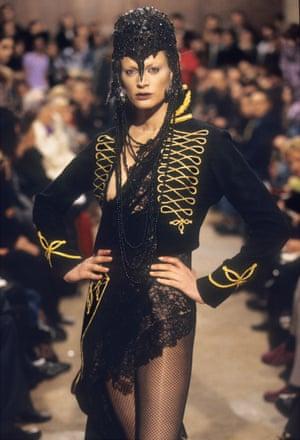 Alexander McQueen's Dante collection, 1996