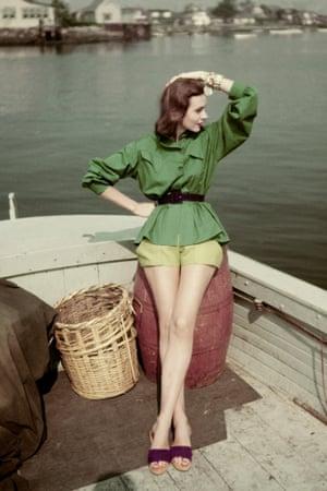 Carolyn Schnurer outfit, 1951