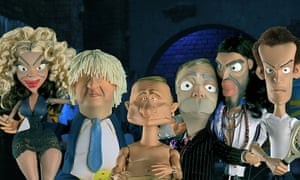 Newzoids … 'a biting look at the world of politics and celebrity'.