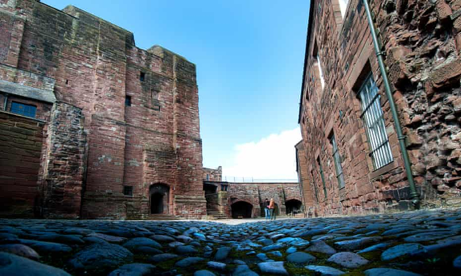 Carlisle Castle – captured briefly by Bonnie Prince Charlie in 1745.