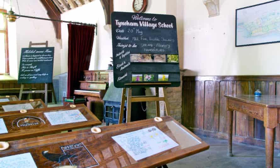 Tyneham village school