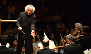 Sir Simon Rattle conducts the Berliner Philharmoniker at the Barbican.