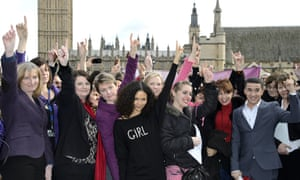 Celebrities at a One Billion Rising event in London