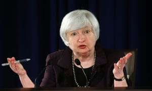 Fed chair Janet Yellen.