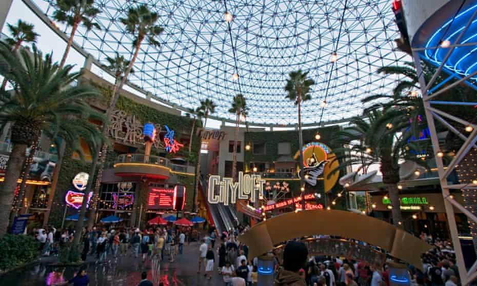 Universal Studios CityWalk in Los Angeles, California
