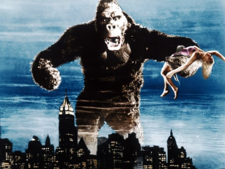 Monster romance in pop culture goes all the way back to King Kong.