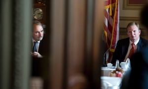David Axelrod and Jim Messina, former colleagues going head-to-head in the UK general election.