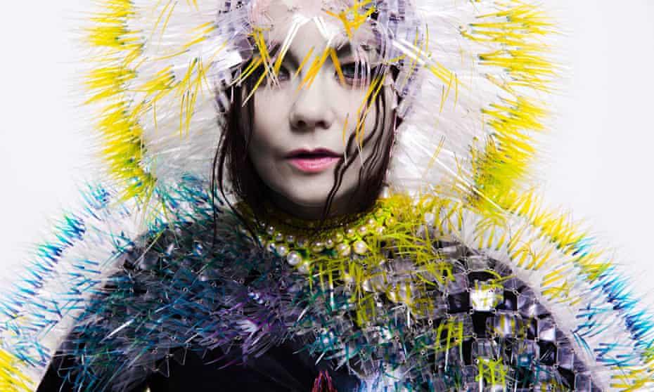 Björk photographed for her 2015 album, Vulnicura.