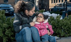 Maria Caraballo and daughter