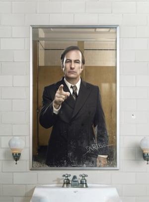 Bob Odenkirk as Jimmy McGill/Saul Goodman in Better Call Saul