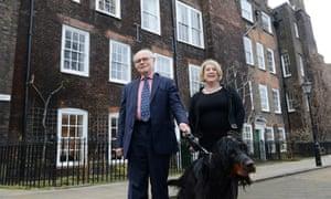Lawyers John Friel and Melinda Nettleton