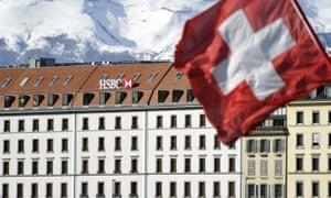 HSBC private bank in Geneva, Switzerland