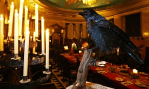 The Game of Thrones pop-up restaurant All Men Must Dine at the Andaz Liverpool Street, London.