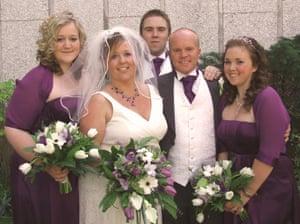 Phoebe Patey-Ferguson mum's wedding