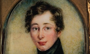 Portrait of Charles Dickens, aged 18.