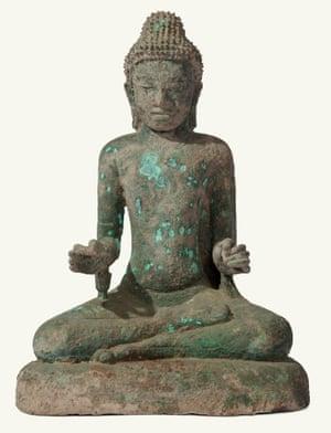 Buddha, Pyu period, eighth-ninth century