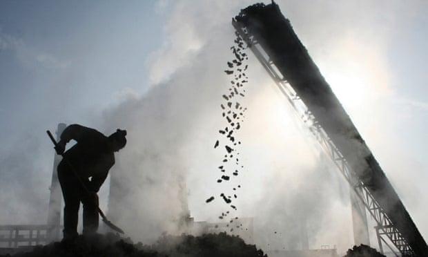 Coal worker Baicheng, China