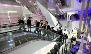 Luxury shopping in Shanghai