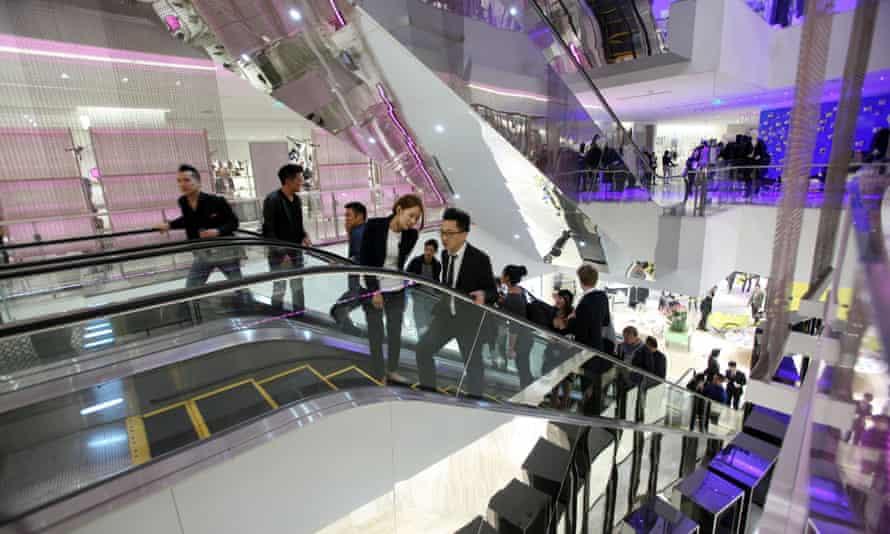 Luxury shopping in Shanghai