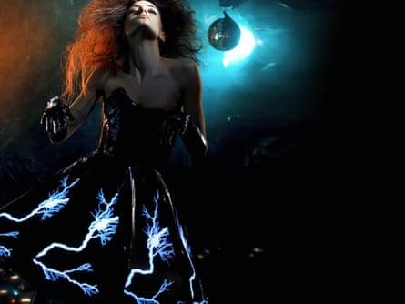 Amy Winters' Thunderstorm Dress