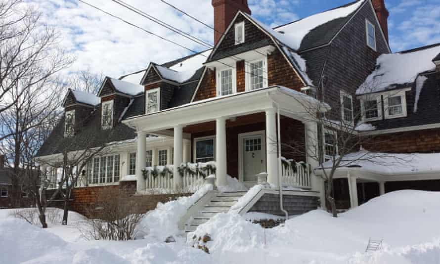 TS Eliot's house in New England.