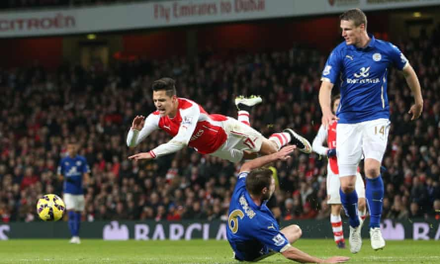 Arsenal's Alexis Sanchez, one of the overseas players benefitting from the money coming into the Premier League.