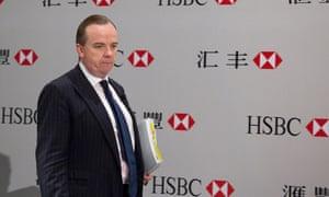 HSBC chief executive,Stuart Gulliver