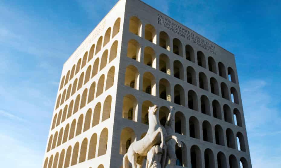 Palazzo della Civiltà del Lavoro or Square Colosseum