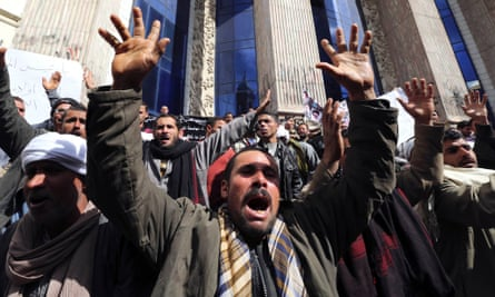 Egyptian protest Coptic Christians