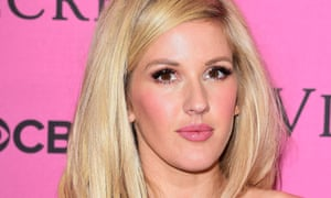 Ellie Goulding, who has ended Mark Ronson's seven-week reign at the top of the singles chart after Love Me Like You Do toppled Uptown Funk from the number one spot.