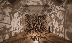 Cornelia Parker's  Cold Dark Matter: An Exploded View, on show at the revamped Whitworth Gallery in Manchester