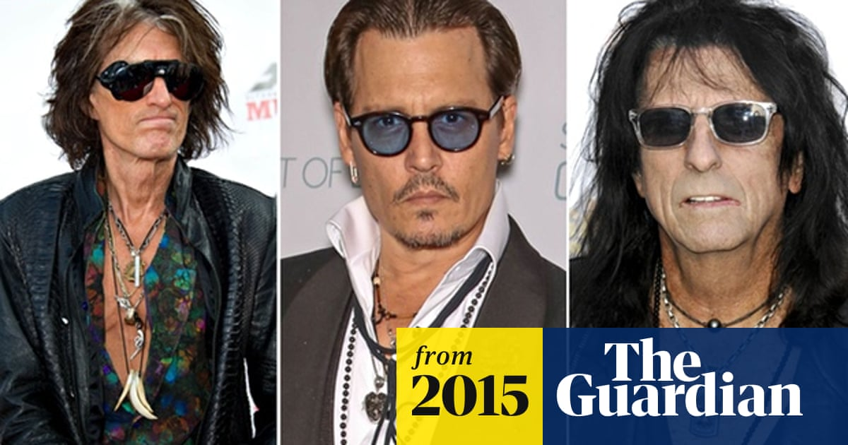 Johnny Depp Forms Supergroup With Alice Cooper And Aerosmith S Joe Perry Johnny Depp The Guardian Hollywood vampires, alice cooper & joe perry 2019. johnny depp forms supergroup with alice