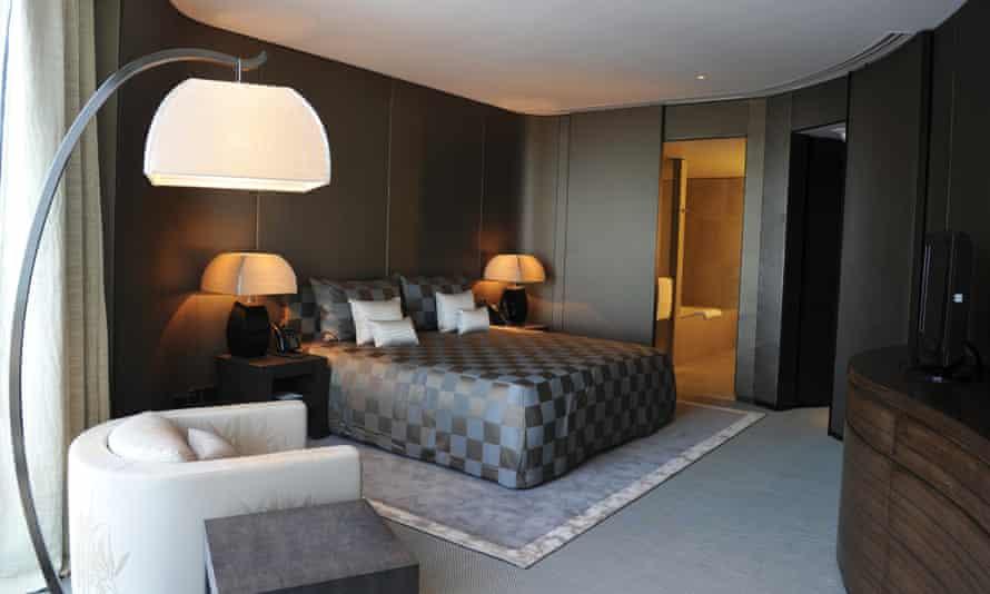 Armani designed interior for World One