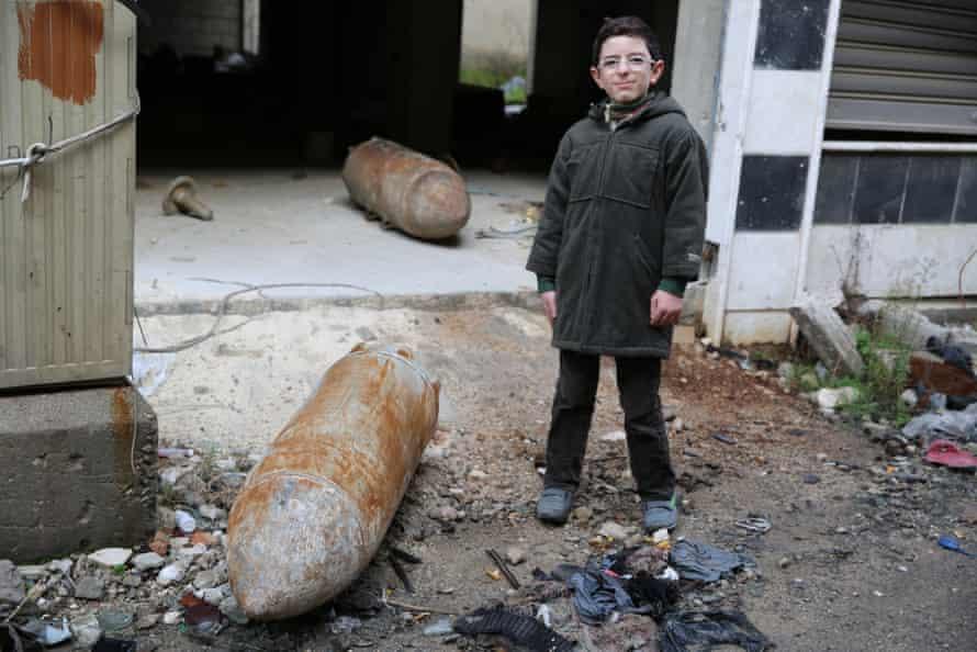 boy syria