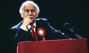John Thaw in The Absence of War at the National Theatre in 1993.