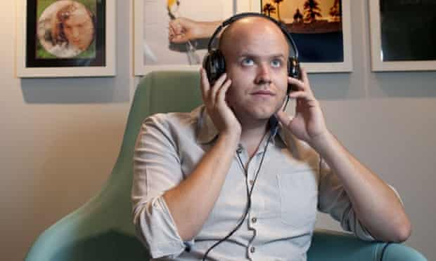 Stephen Cooper's defence of free streaming will be music to the ears of Spotify CEO Daniel Ek, pictured.