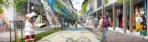 Redevelopment of the negar (neighbourhood).