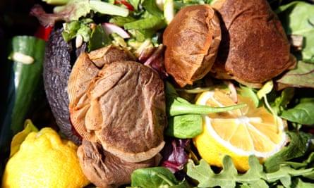 Waste food composting